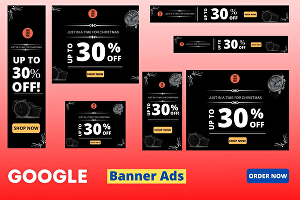 I will design amazing HTML5 banner ads for google or facebook