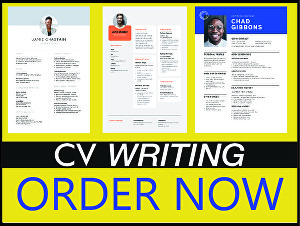 I will write and edit your cv  within 24 hours