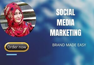 I will be your professional social media marketing manager for 4 days