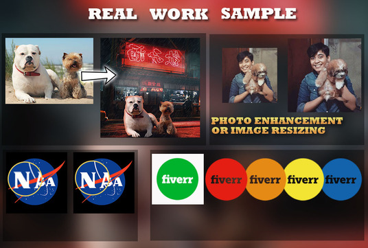 do photoshop editing for your images