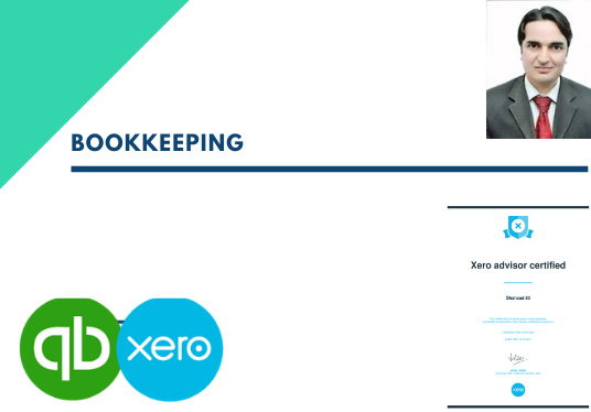 Do Bookkeeping Accounting In Quickbooks Xero And Excel For 10 Shahzad80 Fivesquid