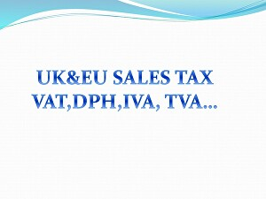 I will register and submit your  UK and EU  VAT tax