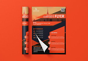 I will do professional business flyers design 24 hours