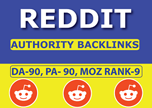 I will Create 10 Backlinks on Reddit for more Traffic