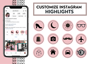 I will design instagram highlights and icon