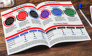 I will design classic modern eye-catching Full catalogue booklet lookbook for your products