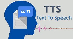I will convert your text to speech or audio or voice of quality in 24 hrs