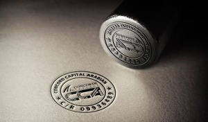 I will design the stamp badge logo for your business