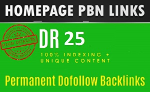 I will Over 20 high quality direct backlinking for home page SEO