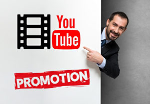 I will do youtube video promotion through Social Media