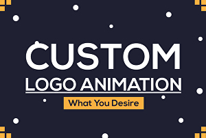 I will Make custom logo animation