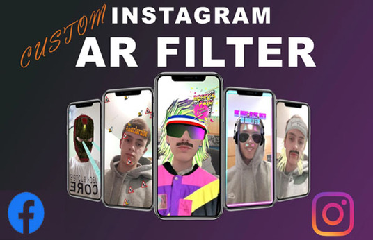 create your own custom Instagram and Facebook filter