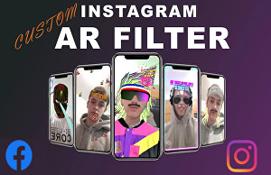 I will create your own custom Instagram and Facebook filter