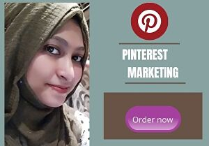 I will be professional Pinterest marketing manager and grow it for 7 days