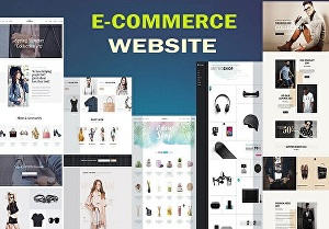 I will develop an eCommerce website, create eCommerce website, build eCommerce website