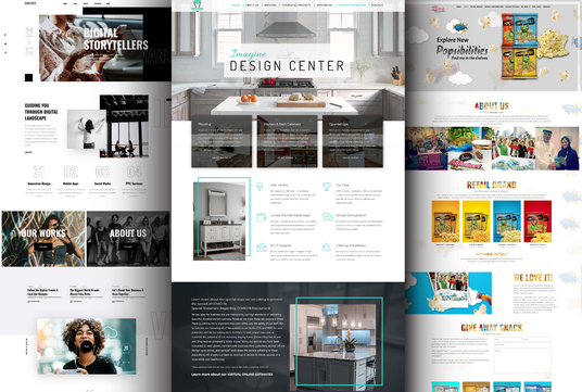 do web design and build professional website or landing page