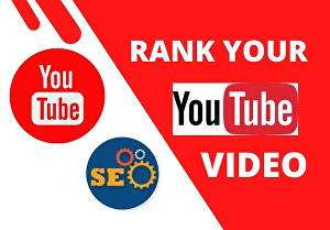I will do best youtube SEO for video ranking