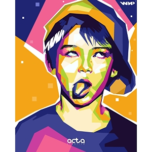 I will make awsoame WPAP pop art portrait of your face
