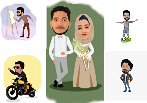 I will draw awesome cartoon caricature from your photo