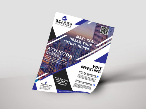 design your business flyer design perfectly