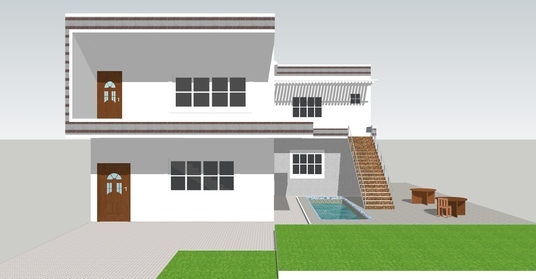 do a 2d or 3d floor plan, elevation, and rendering design of your building and layout