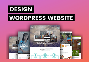 I will create a Responsive Business WordPress Website Design