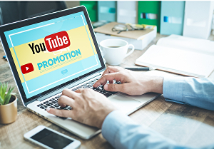 I will do organic YouTube video promotion through Social Media