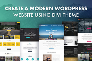 I will Create elegant wordpress website with divi theme or divi builder