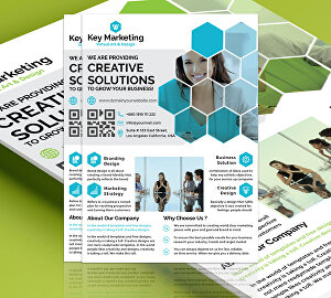 I will design a unique business flyer for you
