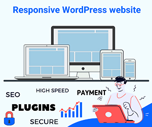 I will Create a WordPress website Or Landing Pages with on-page SEO