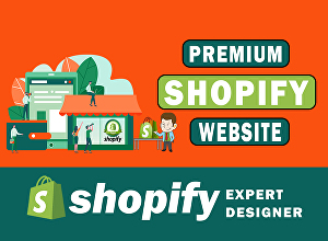 I will create dropshipping shopify store or shopify website