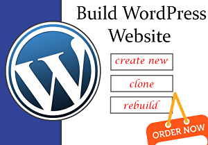 I will create your dream website by WordPress