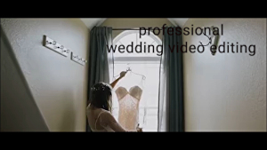I will do professional wedding video editing