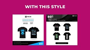I will create Instagram video ads for clothing brand