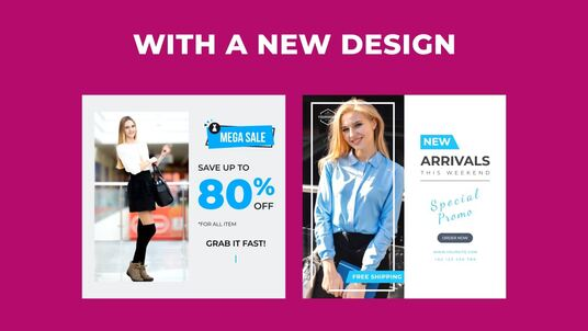 create Instagram video ads for clothing brand
