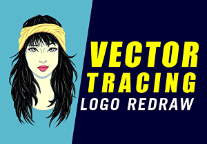 I will do vector tracing, image to vector, logo redrawing and line art Illustration for you