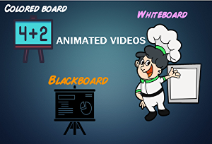 I will create High-Converting Whiteboard, Color Board Animated Videos