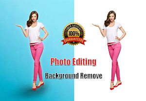 I will do background remove, photo retouch and photo editing using photoshop