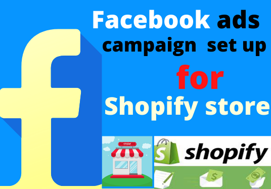 create and manage your Facebook ads campaign for the Shopify store