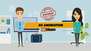 I will create professional 2d animation video or explainer video