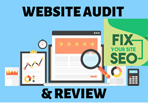 I will provide a website SEO audit report and fix issues