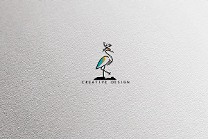 I will design a modern minimalist business logo