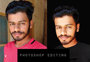 I will do professional photoshop editing and retouching your images
