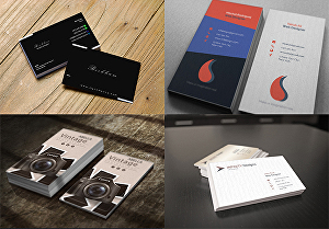 I will design a double-sided minimalist business card for your brand identity