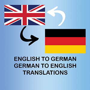 I will translate any text up to 500 words from English to German