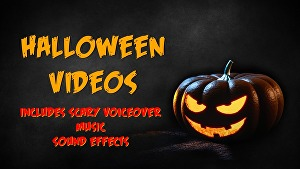 I will create a custom Halloween Video