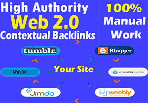 I will create 30 manual web2.0 Backlinks with a contextual backlink