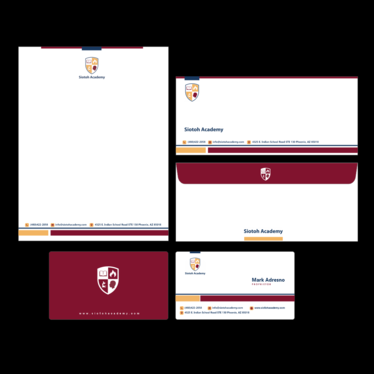 create stable Logo and Stationery for your brand