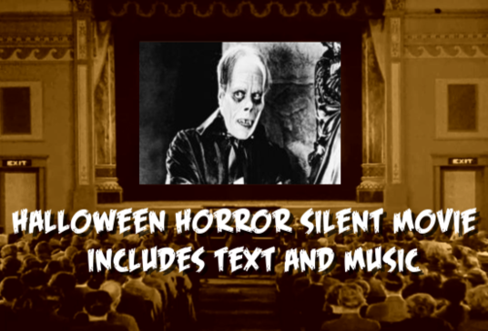 create a Silent Horror Movie for Halloween