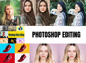 I will do any professional photoshop editing within 24 hours